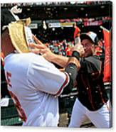 Tommy Hunter and Steve Pearce Canvas Print