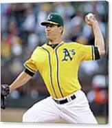 Tommy Milone Canvas Print