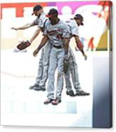 Torii Hunter and Eduardo Escobar Canvas Print