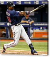 Torii Hunter Canvas Print