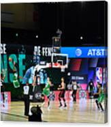 Toronto Raptors v Boston Celtics - Game Three Canvas Print
