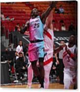 Toronto Raptors v Miami Heat Canvas Print