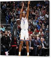 Toronto Raptors v Oklahoma City Thunder Canvas Print