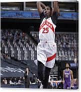 Toronto Raptors v Sacramento Kings Canvas Print