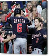 Trea Turner and Anthony Rendon Canvas Print
