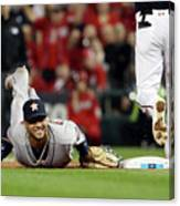 Trea Turner Canvas Print