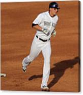 Troy Tulowitzki and Chad Billingsley Canvas Print
