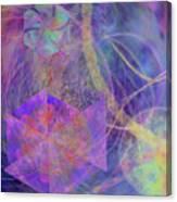 Turbo Blue Canvas Print