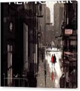 Twilight Avenue Canvas Print