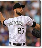 Tyler Chatwood Canvas Print