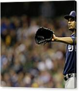 Tyson Ross Canvas Print