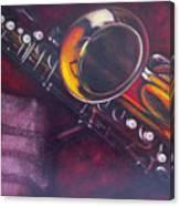 Unprotected Sax Canvas Print