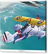 Unsung Hero - Grumman J2F Duck Canvas Print