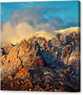 Unveiling Sandia Mountain and Crest Canvas Print