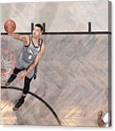 Utah Jazz v Brooklyn Nets Canvas Print