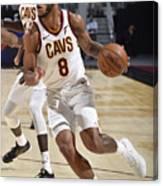 Utah Jazz v Cleveland Cavaliers Canvas Print