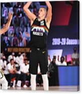 Utah Jazz v Denver Nuggets - Game One Canvas Print