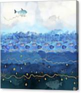 Warming Oceans and Sea Level Rise Canvas Print