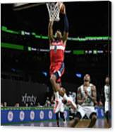 Washington Wizards v Boston Celtics Canvas Print