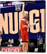 Washington Wizards v Denver Nuggets Canvas Print