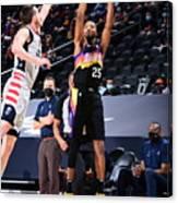 Washington Wizards v Phoenix Suns Canvas Print