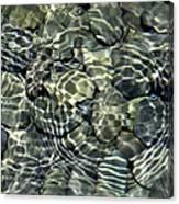 Water Rocks 2 Canvas Print