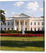 White House Washington DC Canvas Print