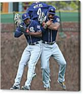 Wil Myers, Will Venable, and Matt Kemp Canvas Print