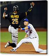 Wilmer Flores and Gregory Polanco Canvas Print