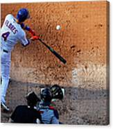Wilmer Flores Canvas Print