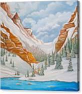 Winter on the Colorado River Canvas Print