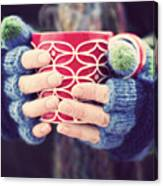 Winter warmer Canvas Print