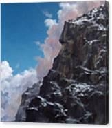 Yosemite cliff face Canvas Print