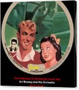 Vogue Record Art - R 713 - P 34 Yellow Logo Canvas Print