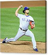 Yu Darvish Canvas Print