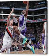 Zach Collins and Buddy Hield Canvas Print