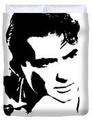 # 1 Gregory Peck Portrait. Duvet Cover