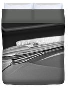 1948 Chevrolet Hood Ornament Duvet Cover