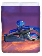 A Flying - Flying Lady  Duvet Cover
