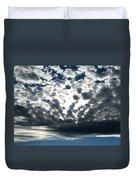 A Glorious Cloudscape Duvet Cover