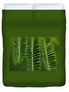 A Green Drop Duvet Cover