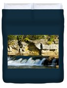 A Quiet Place  Waterfall Duvet Cover
