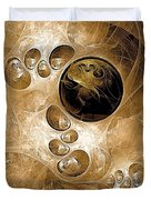Abstraction 208 - Marucii  Duvet Cover