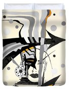 Abstraction 269 - Marucii Duvet Cover