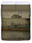 Across The Schuylkill River In Philadelphia - Pennsylvania - Usa Duvet Cover