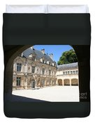 Arch View Palace Bussy Rabutin Duvet Cover