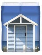 Beach Hut Duvet Cover
