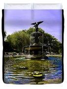 Bethesda Fountain - Central Park  Duvet Cover