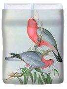 Birds Of Asia Duvet Cover