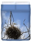 Blue Heron Rookery 7212 Duvet Cover